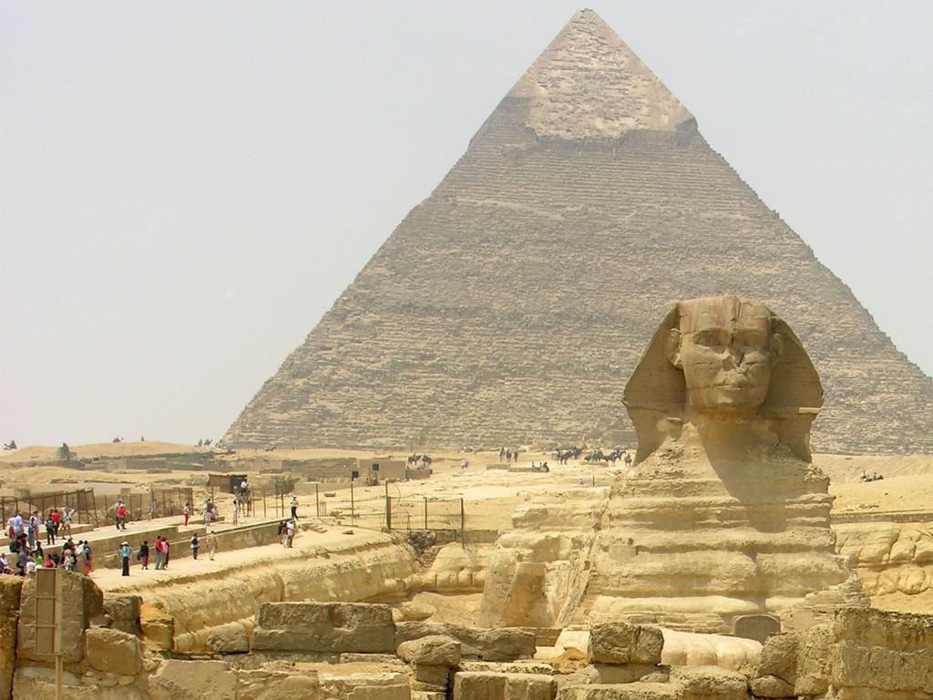 Сфинкс-и-Пирамиды