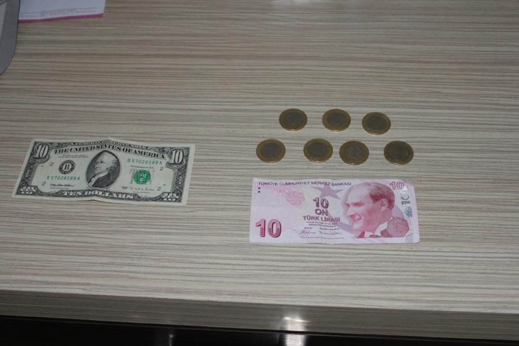 10$ и лиры