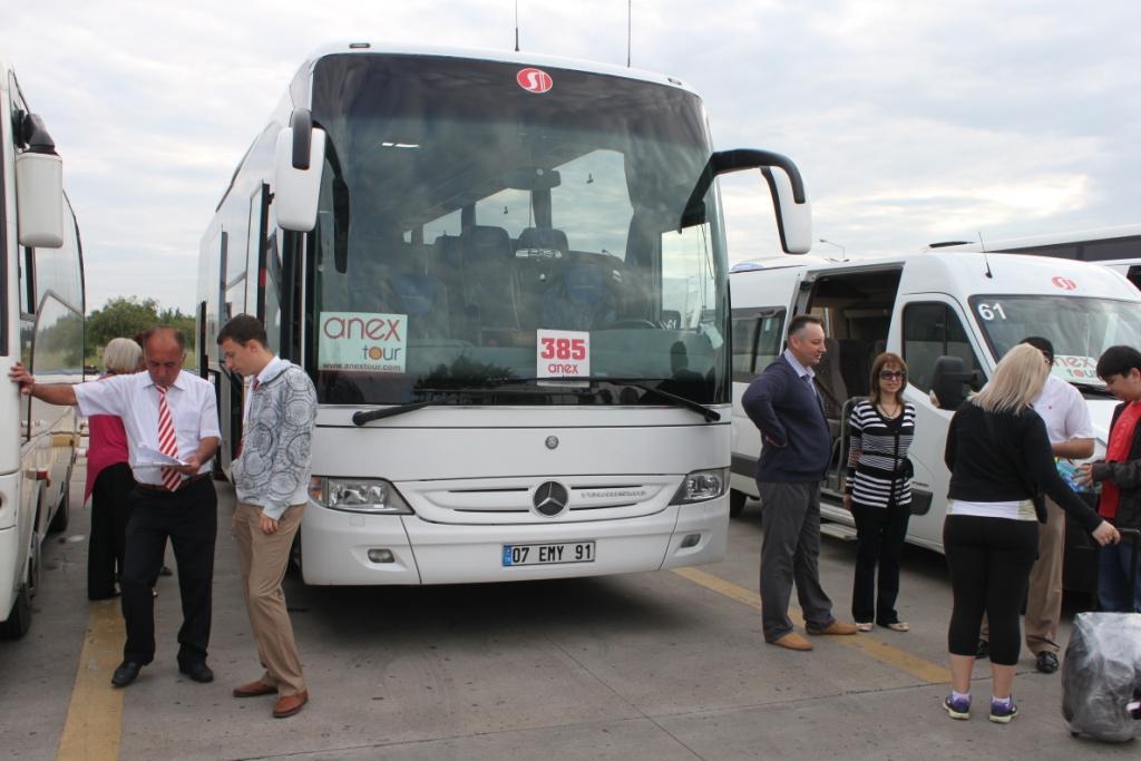 Автобусы Anex Tour