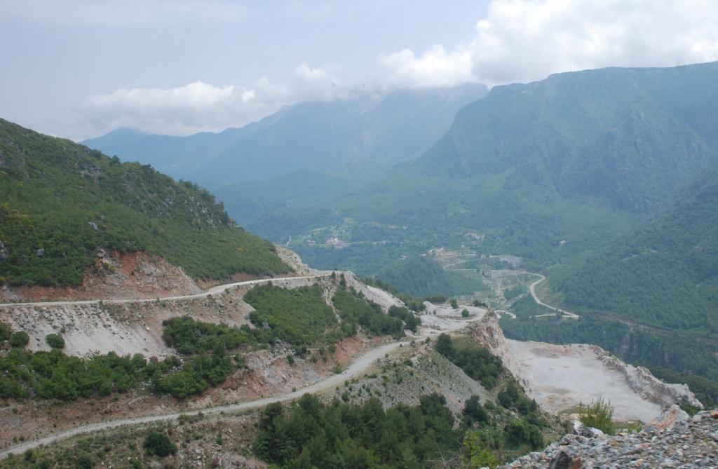 Фото дороги в горах