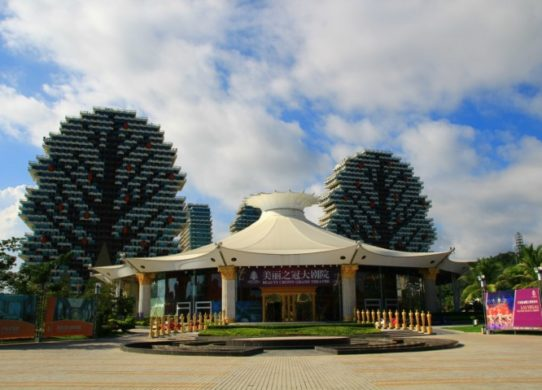 Фото храма на острове