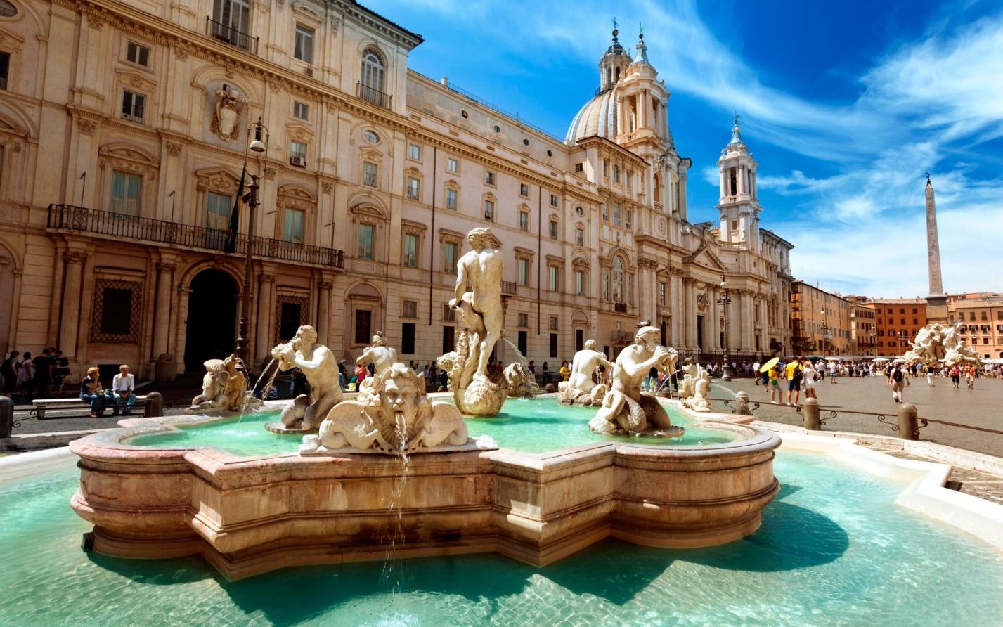 Достопримечательность в Италии