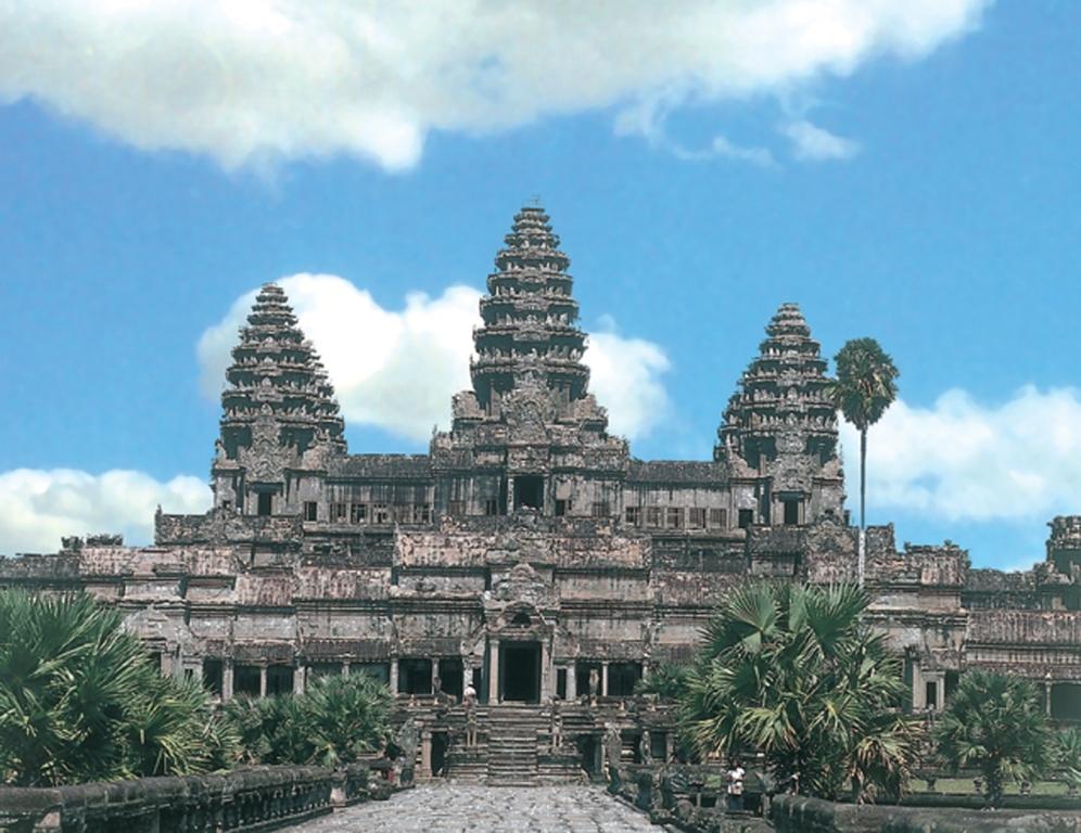 Ангкор Ват в Камбоджи