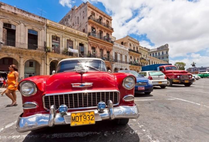 Фото авто на Кубе