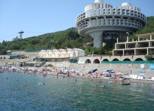 Фото пляжа в Крыму