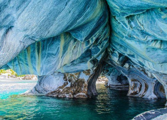 Фото мраморных пещер