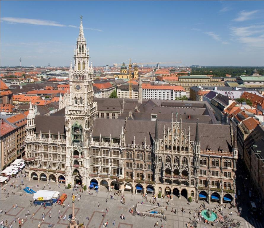 Достопримечательность в Мюнхене