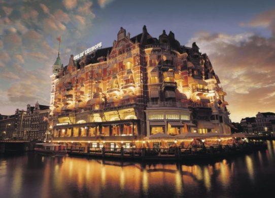 Гостиница в Европе