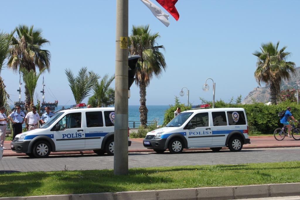 Полиция в Аланье