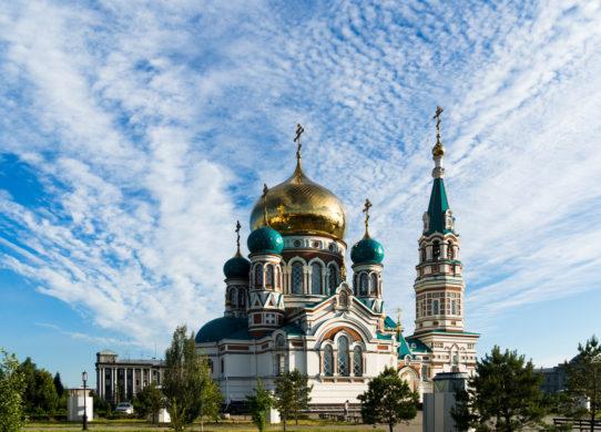 Церковь в Омске