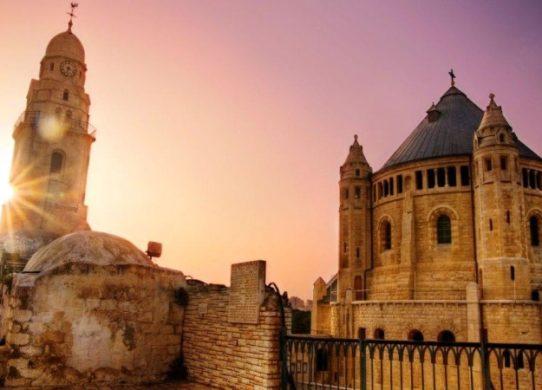 Вечерний Иерусалим