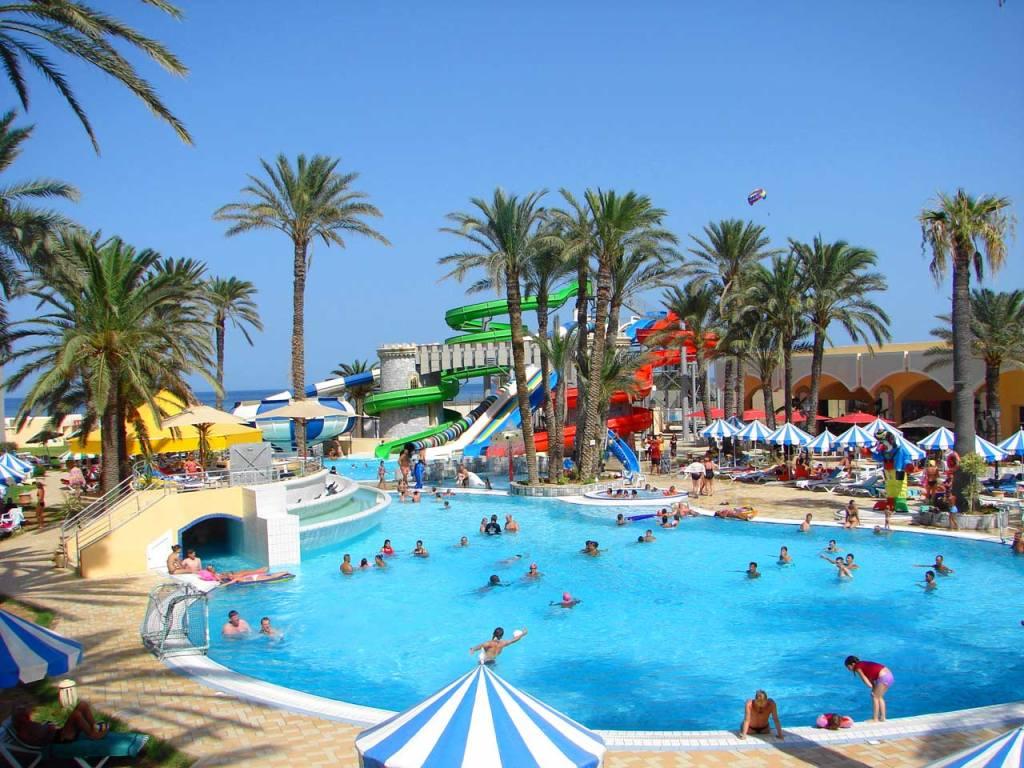 Аквапарк в Тунисе
