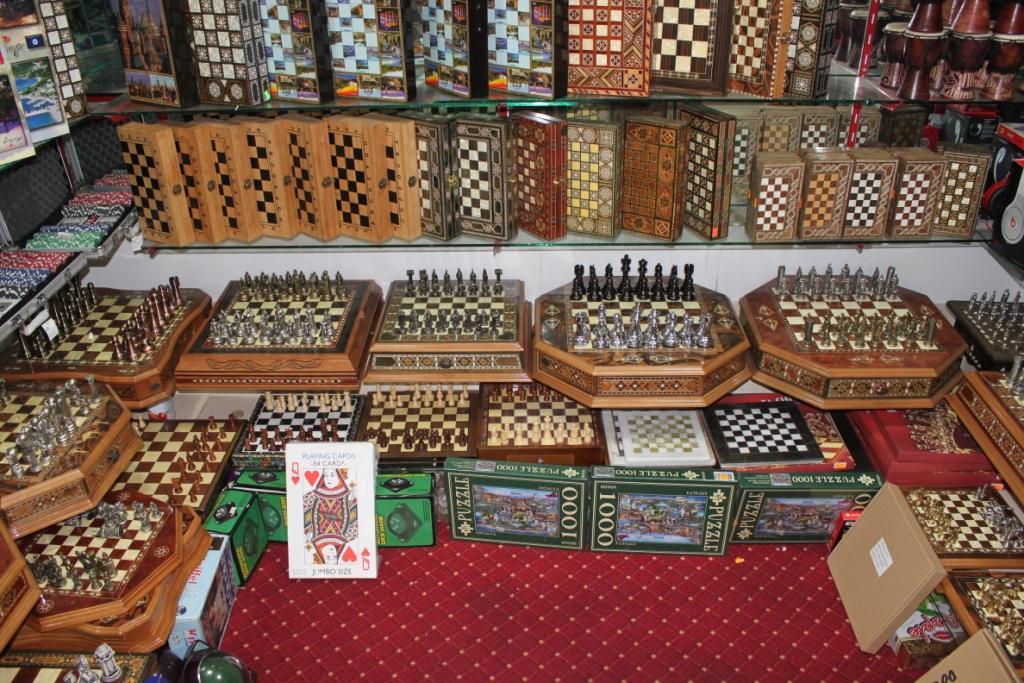 Турецкие шахматы и нарды