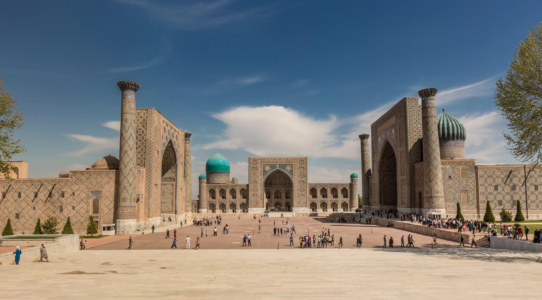 Достопримечательность Узбекистана