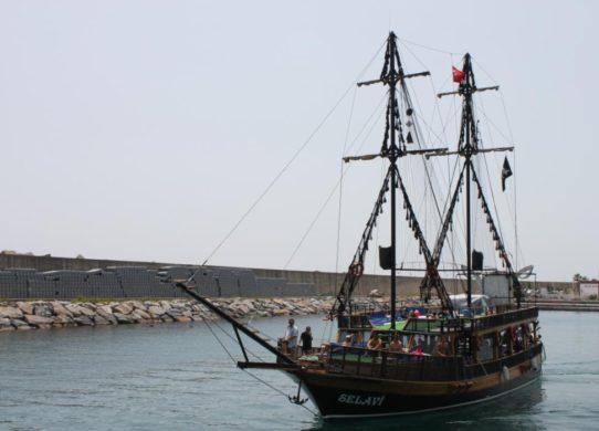 Яхта в Аланье